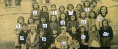 Classe des filles 1950/1951